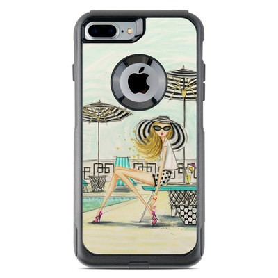 OtterBox Commuter iPhone 7 Plus Case Skin - Luxe Retreat Poolside