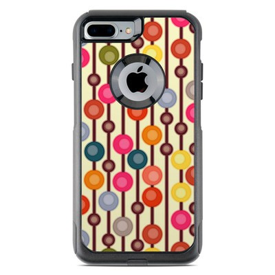 OtterBox Commuter iPhone 7 Plus Case Skin - Mocha Chocca