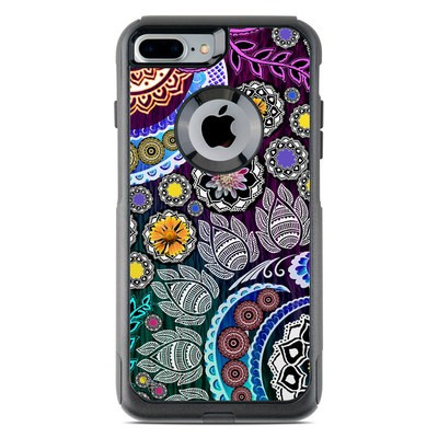 OtterBox Commuter iPhone 7 Plus Case Skin - Mehndi Garden