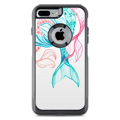 OtterBox Commuter iPhone 7 Plus Case Skin - Mermaid Tails