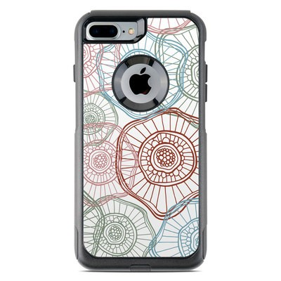 OtterBox Commuter iPhone 7 Plus Case Skin - Micro Flowers