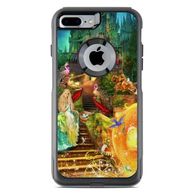 OtterBox Commuter iPhone 7 Plus Case Skin - Midnight Fairytale