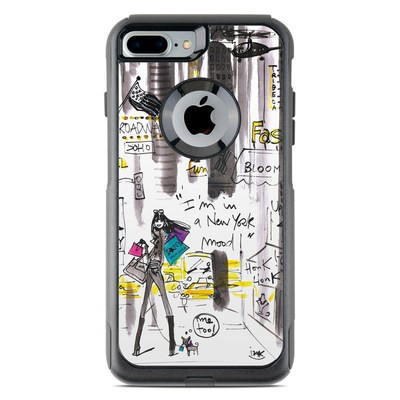 OtterBox Commuter iPhone 7 Plus Case Skin - My New York Mood