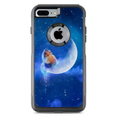 OtterBox Commuter iPhone 7 Plus Case Skin - Moon Fox