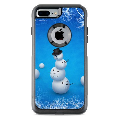 OtterBox Commuter iPhone 7 Plus Case Skin - Merry Snowman