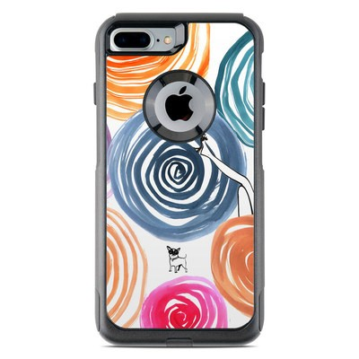 OtterBox Commuter iPhone 7 Plus Case Skin - New Circle