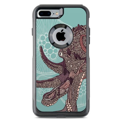 OtterBox Commuter iPhone 7 Plus Case Skin - Octopus Bloom