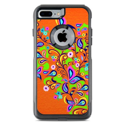 OtterBox Commuter iPhone 7 Plus Case Skin - Orange Squirt