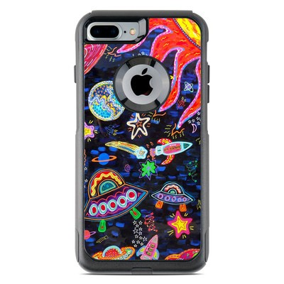 OtterBox Commuter iPhone 7 Plus Case Skin - Out to Space