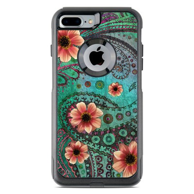 OtterBox Commuter iPhone 7 Plus Case Skin - Paisley Paradise