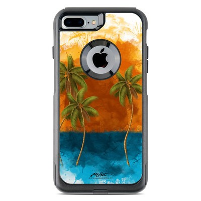 OtterBox Commuter iPhone 7 Plus Case Skin - Palm Trio