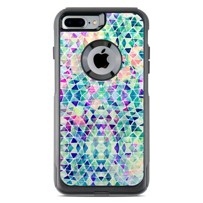 OtterBox Commuter iPhone 7 Plus Case Skin - Pastel Triangle