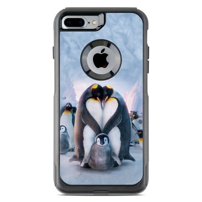 OtterBox Commuter iPhone 7 Plus Case Skin - Penguin Heart