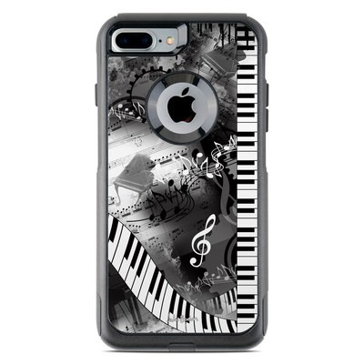 OtterBox Commuter iPhone 7 Plus Case Skin - Piano Pizazz