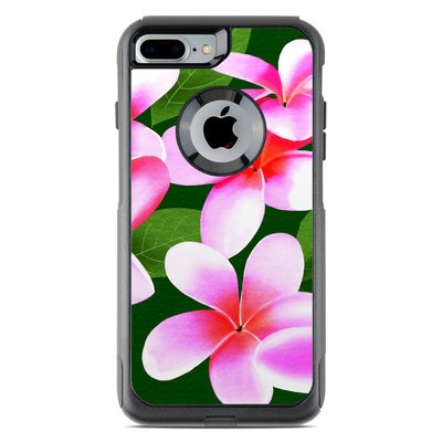 OtterBox Commuter iPhone 7 Plus Case Skin - Pink Plumerias