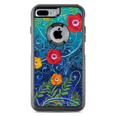 OtterBox Commuter iPhone 7 Plus Case Skin - Poppies