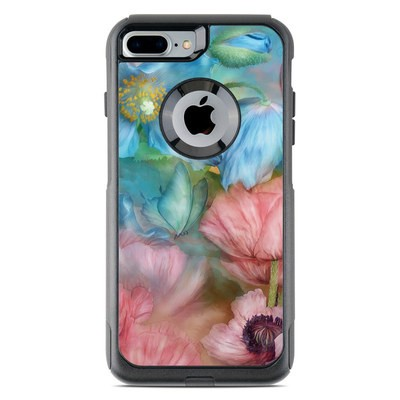 OtterBox Commuter iPhone 7 Plus Case Skin - Poppy Garden