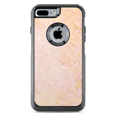 OtterBox Commuter iPhone 7 Plus Case Skin - Rose Gold Marble