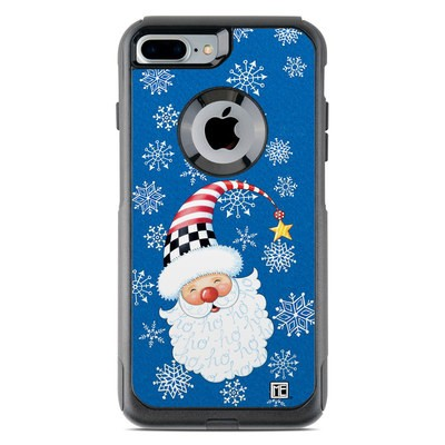 OtterBox Commuter iPhone 7 Plus Case Skin - Santa Snowflake