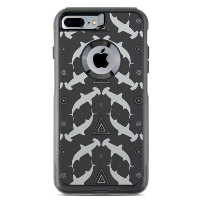 OtterBox Commuter iPhone 7 Plus Case Skin - Shiver of Sharks