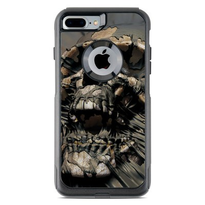 OtterBox Commuter iPhone 7 Plus Case Skin - Skull Wrap