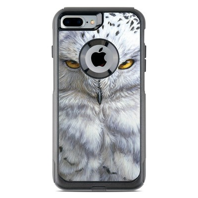 OtterBox Commuter iPhone 7 Plus Case Skin - Snowy Owl
