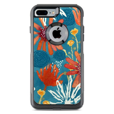 OtterBox Commuter iPhone 7 Plus Case Skin - Sunbaked Blooms