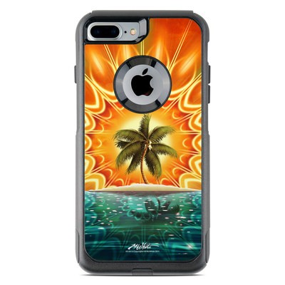 OtterBox Commuter iPhone 7 Plus Case Skin - Sundala Tropic