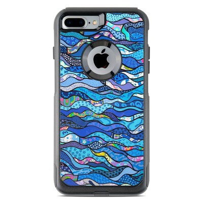 OtterBox Commuter iPhone 7 Plus Case Skin - The Blues