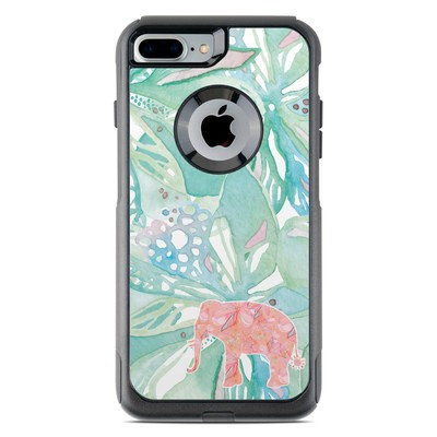 OtterBox Commuter iPhone 7 Plus Case Skin - Tropical Elephant