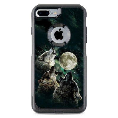OtterBox Commuter iPhone 7 Plus Case Skin - Three Wolf Moon