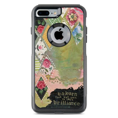 OtterBox Commuter iPhone 7 Plus Case Skin - Unlearn