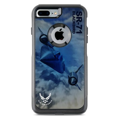 OtterBox Commuter iPhone 7 Plus Case Skin - Blackbird