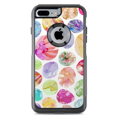 OtterBox Commuter iPhone 7 Plus Case Skin - Watercolor Dots