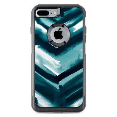 OtterBox Commuter iPhone 7 Plus Case Skin - Watercolor Chevron