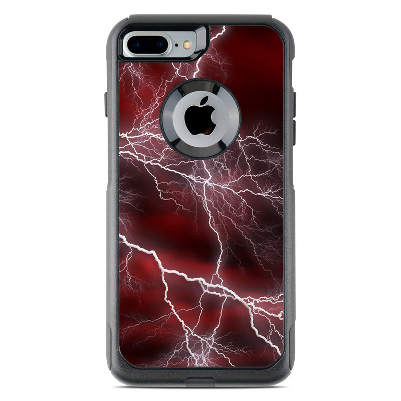OtterBox Commuter iPhone 7 Plus Case Skin - Apocalypse Red