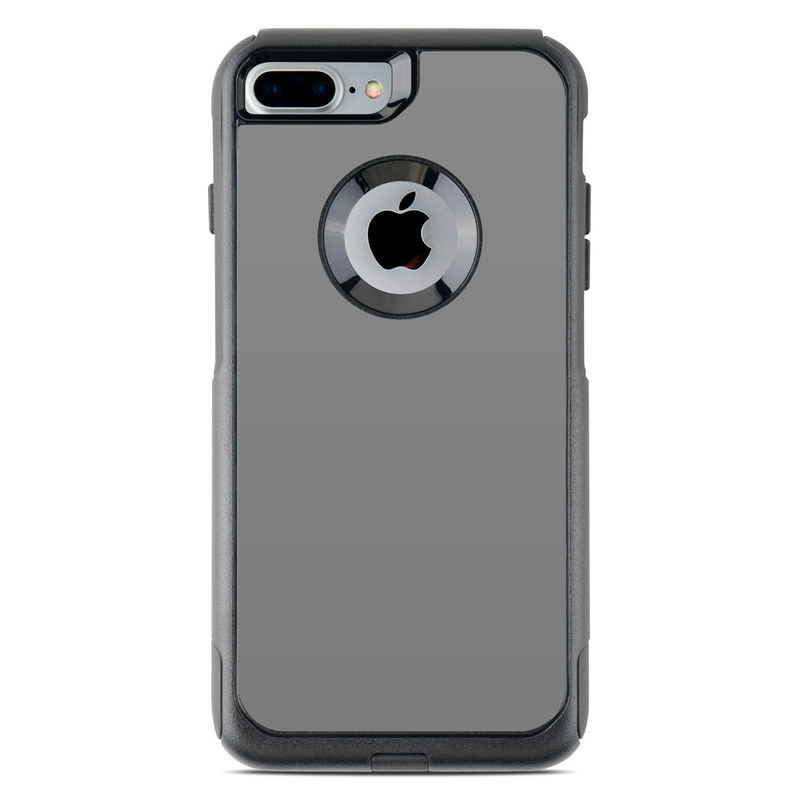 timeless design 01c21 b90d5 OtterBox Commuter iPhone 7 Plus Case Skin - Solid State Grey