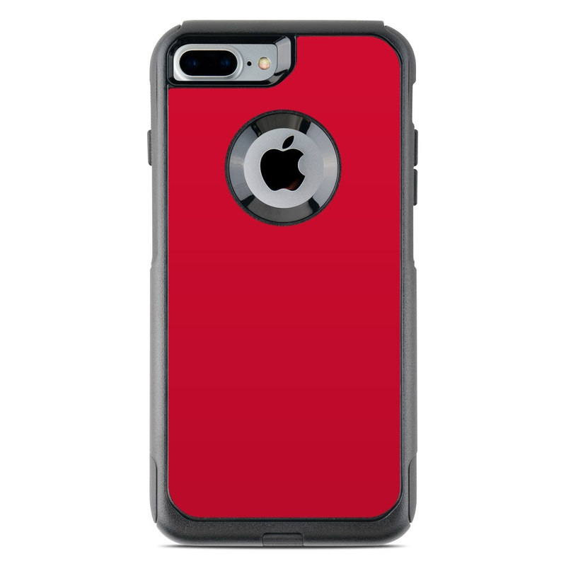 best authentic d8deb 014ab OtterBox Commuter iPhone 7 Plus Case Skin - Solid State Red