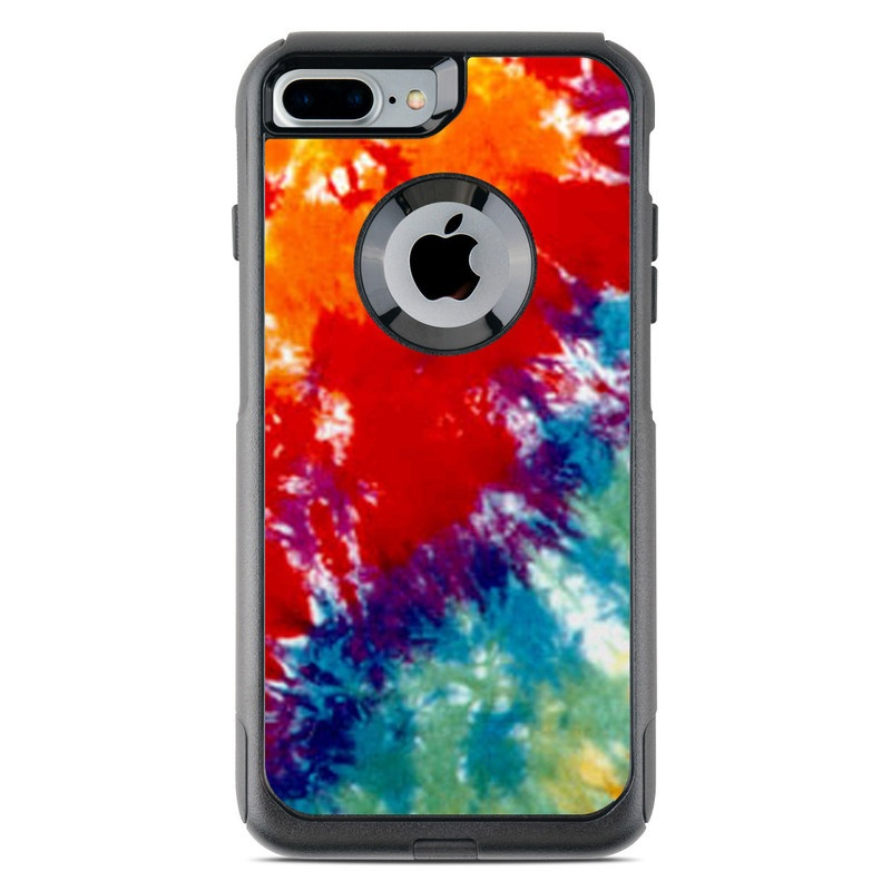 Automotive Paint Colors >> OtterBox Commuter iPhone 7 Plus Case Skin - Tie Dyed by Retro | DecalGirl