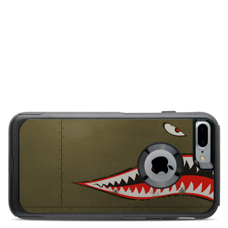 new concept 56e69 96aa3 OtterBox Commuter iPhone 7 Plus Case Skin - USAF Shark