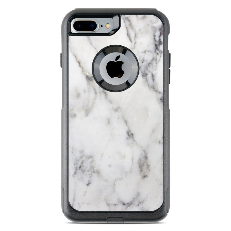 brand new b96f5 5767c OtterBox Commuter iPhone 7 Plus Case Skin - White Marble