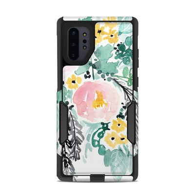 OtterBox Commuter Galaxy Note 10 Plus Case Skin - Blushed Flowers