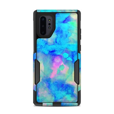 OtterBox Commuter Galaxy Note 10 Plus Case Skin - Electrify Ice Blue