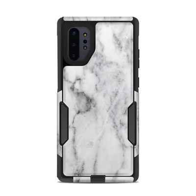 OtterBox Commuter Galaxy Note 10 Plus Case Skin - White Marble