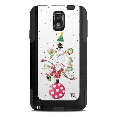 OtterBox Commuter Note 3 Case Skin - Christmas Circus