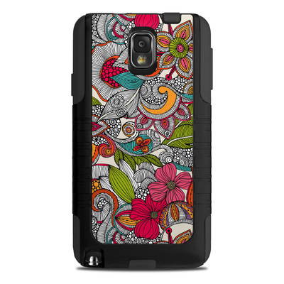 OtterBox Commuter Note 3 Case Skin - Doodles Color
