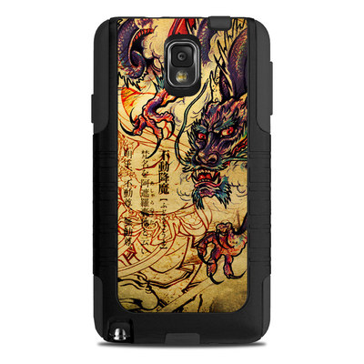 OtterBox Commuter Note 3 Case Skin - Dragon Legend
