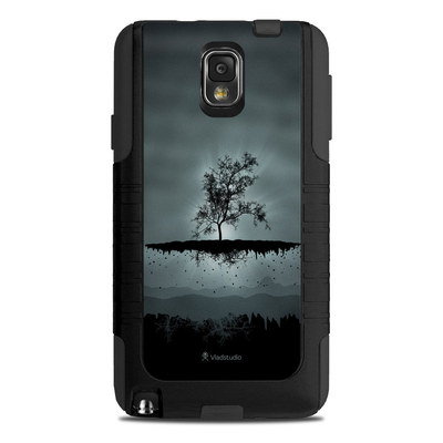 OtterBox Commuter Note 3 Case Skin - Flying Tree Black