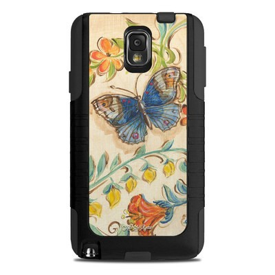 OtterBox Commuter Note 3 Case Skin - Garden Scroll