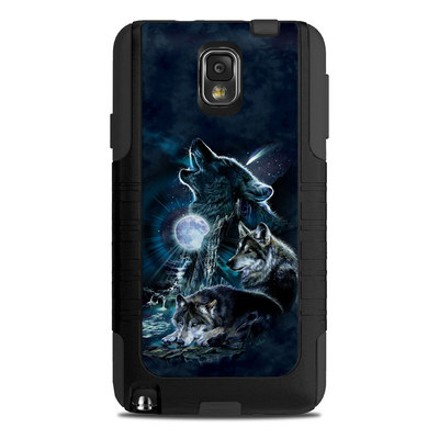 OtterBox Commuter Note 3 Case Skin - Howling